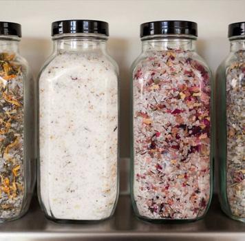 bath salts, reiki infused