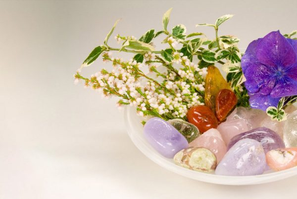 reiki infused crystals
