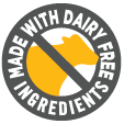made with dairy free ingredients