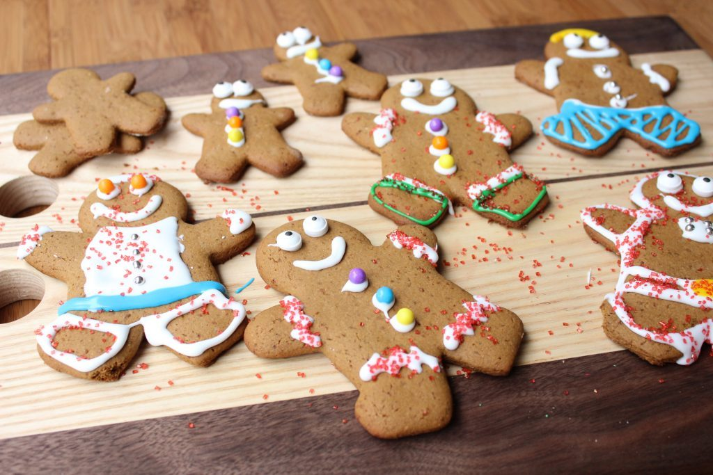Gluten Free Gingerbread Men and Women