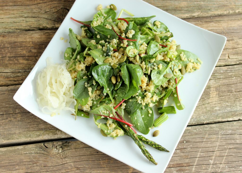 Roasted Asparagus & Quinoa Salad