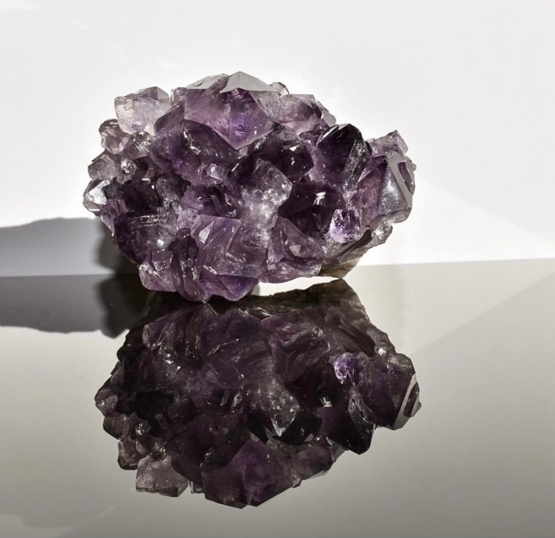 Amethyst and Intentions Setting