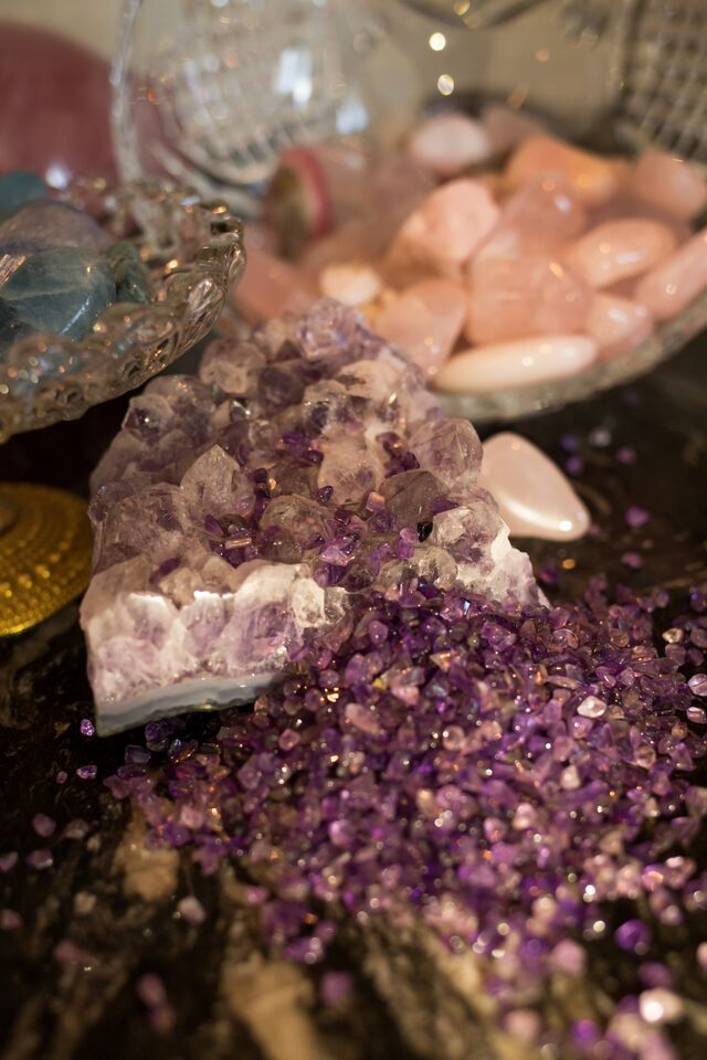 Incorporating crystals into your home